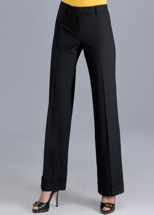 High Front Cuff Trouser