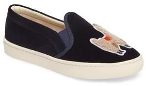 Soludos Velvet Sneaker