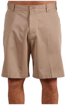 Nautica Big Tall True Khaki Flat Front Short Men's Shorts