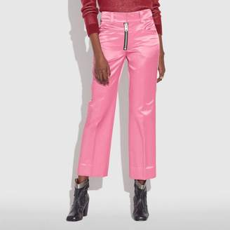 Coach Satin Tailored Trousers