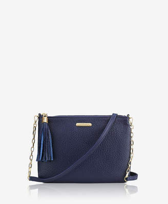 GiGi New York Chelsea Crossbody, Anthracite Pebble Grain