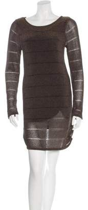 Rag & Bone Open Knit Sweater Dress