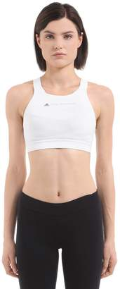 adidas by Stella McCartney Essentials Sports Bra W/ Mesh Panel