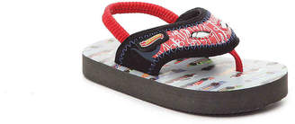 Hot Wheels Toddler Light-Up Flip Flop - Boy's