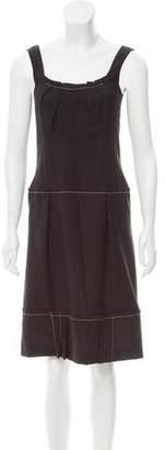 CH Carolina Herrera Wool Shift Dress