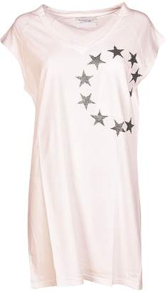 Brand Unique Logo Print V-neck Dress