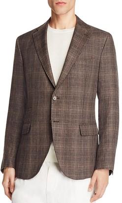 Eleventy Plaid Slim Fit Sport Coat - 100% Exclusive $1,295 thestylecure.com