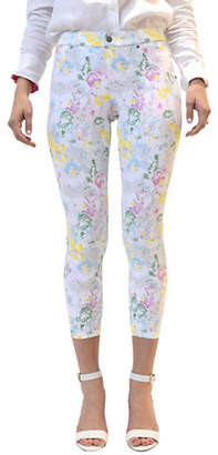 Hue Floral Capri Leggings