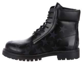 Valentino Hologram Stars Combat Boots