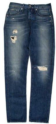 3x13x1 Distressed Straight-Leg Jeans w/ Tags