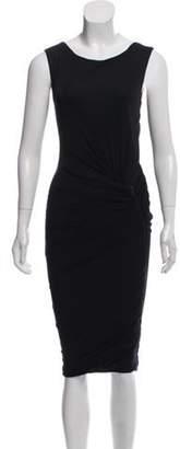 Doo.Ri Sleeveless Draped Dress Black Sleeveless Draped Dress