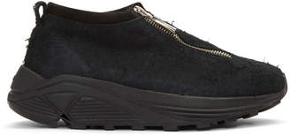 Diemme Black Suede Fontesi Low Sneakers