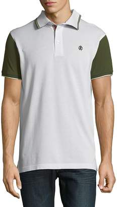 Roberto Cavalli Men's Short-Sleeve Cotton Polo