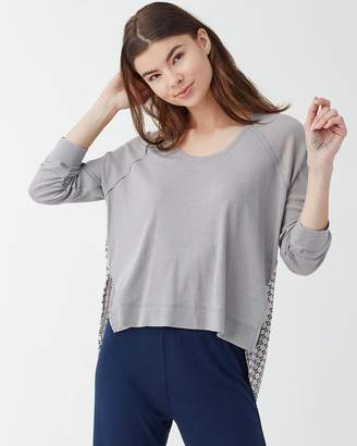 Splendid Raglan Sleep Top