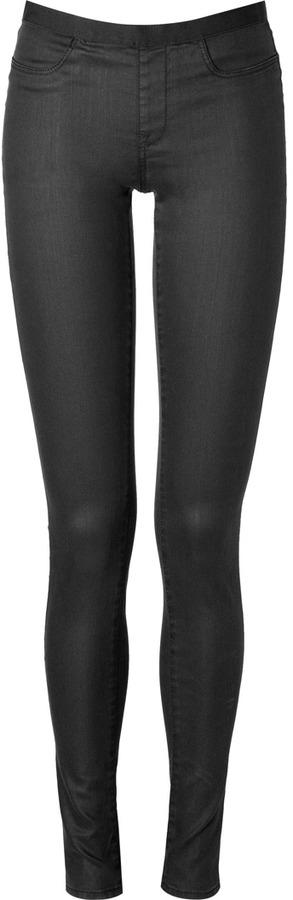 Helmut Skinny Pants in Black