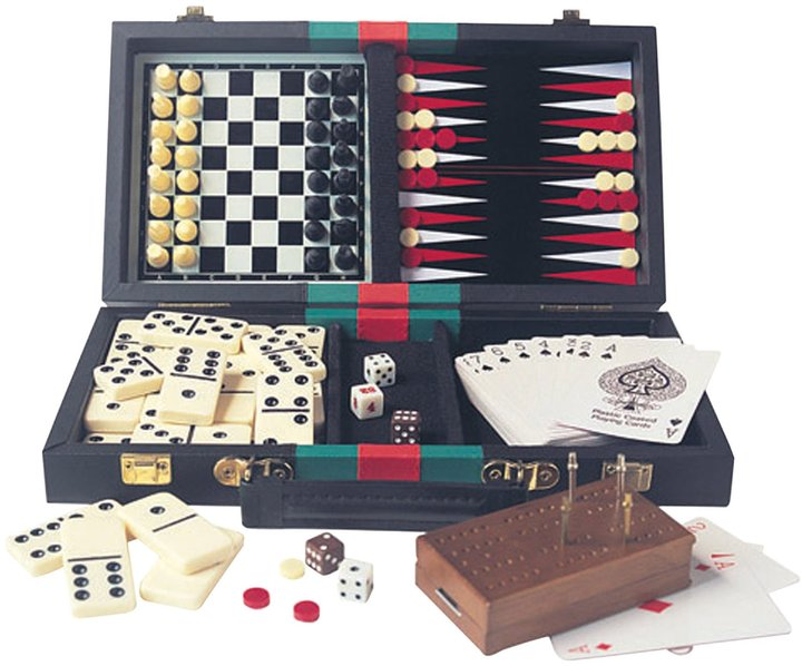 House of Marbles Traveling Games Compendium