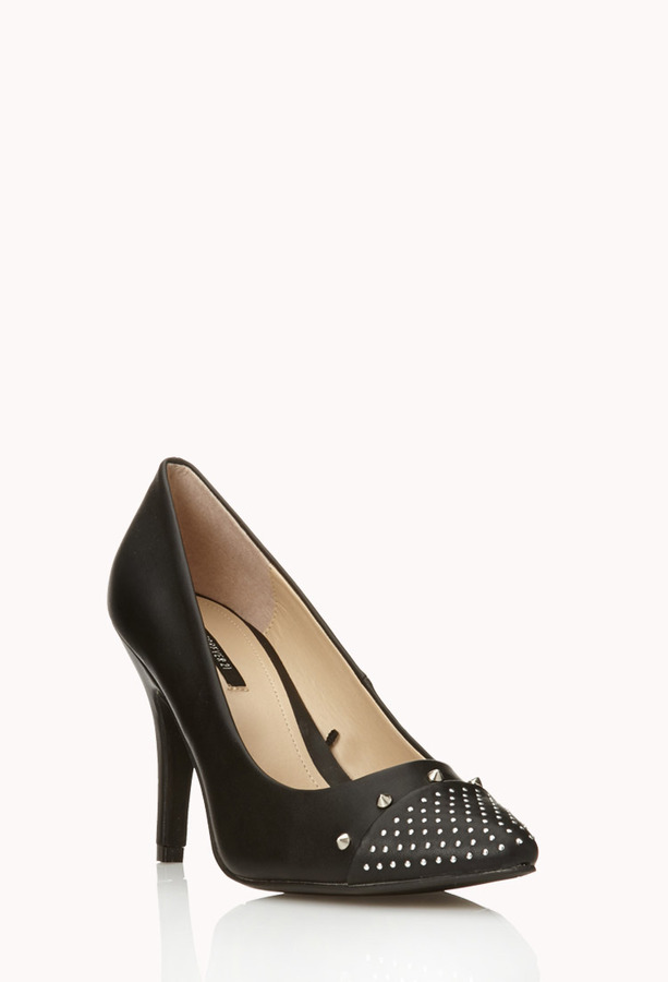 Forever 21 Edgy Stiletto Pumps