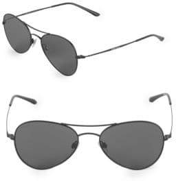 Giorgio Armani 54MM Round Aviator Sunglasses