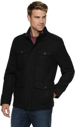 Dockers Wool-Blend 4-Pocket Military Jacket - Men