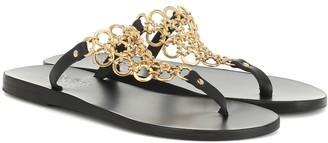 Ancient Greek Sandals Fokida leather sandals