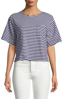 Mds Stripes Bacall Stripe T-Shirt