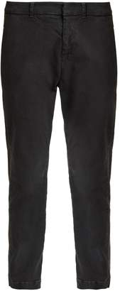 Nili Lotan Tel Aviv straight-leg stretch-cotton trousers