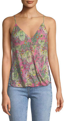 Bailey 44 Tantra V-Neck Sleeveless Printed Top