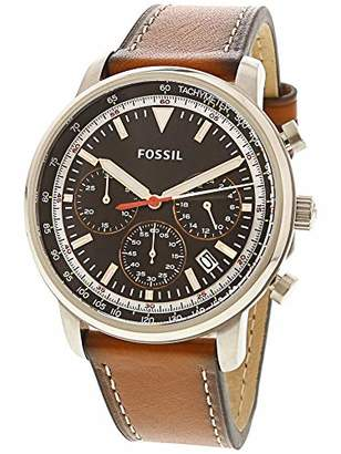 Fossil Men's 'Goodwin' Quartz Stainless Steel and Leather Casual Watch