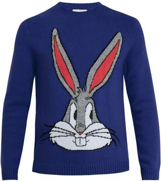 Gucci Bugs Bunny wool-knit sweater