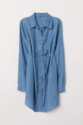 H&M MAMA Lyocell Tunic - Blue