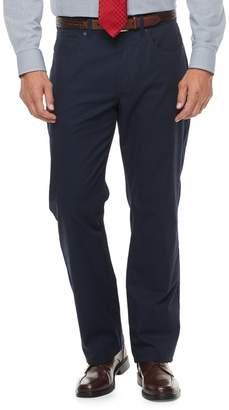 Croft & Barrow Men's Classic-Fit Stretch Flannel-Lined 5-Pocket Pants
