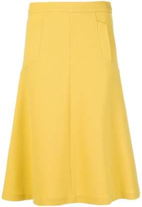 P.A.R.O.S.H. pocket detail midi skirt