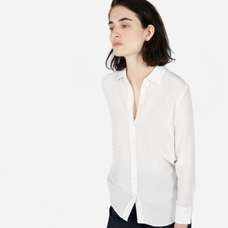 The Relaxed Silk Shirt