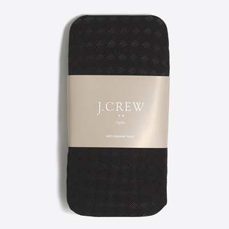 J.Crew Mini diamond tights