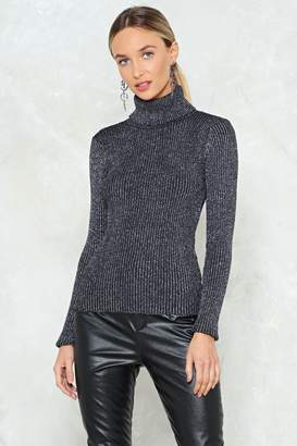 Nasty Gal You Can Do Knit Turtleneck Sweater