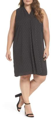 Vince Camuto Poetic Dots Shift Dress