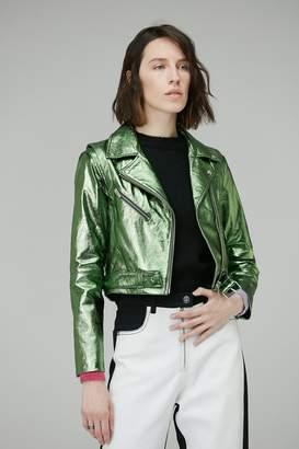 Veda Baby Jane Jacket Jade Metallic