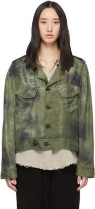 Raquel Allegra Green Military Jacket
