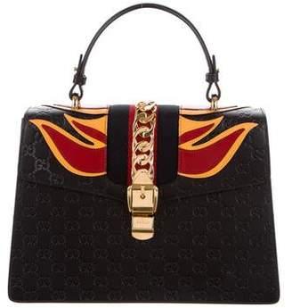 Gucci Guccissima Medium Sylvie Top Handle Bag