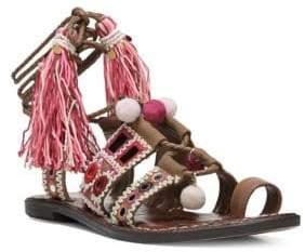 Sam Edelman Gretchen Leather-Blend Sandals