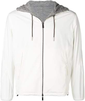 Ermenegildo Zegna hooded zipped jacket