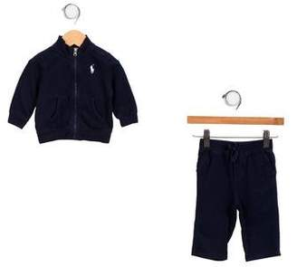 Ralph Lauren Girls' Embroidered Pants Set