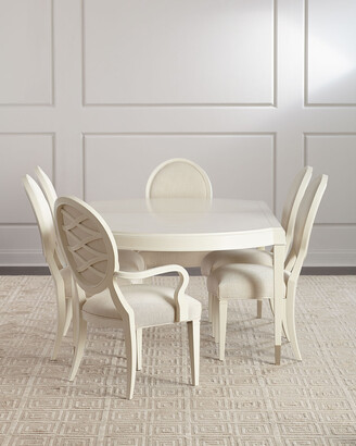 Caracole Pair of Taste-Full Dining Arm Chairs