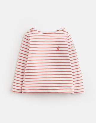 Joules PINK CREAM STRIPE Harbour Jersey Top Size 6m-9m