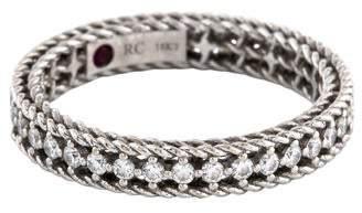 Roberto Coin 18K Diamond Princess Ring