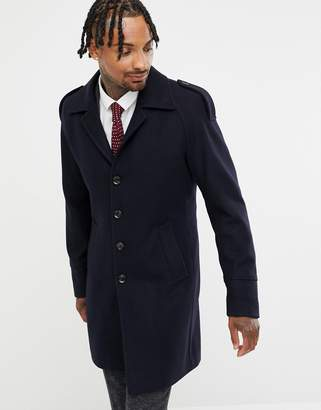 Blend of America Gianni Feraud Premium Wool Raglan Trench