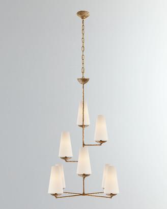 AERIN Fontaine Vertical 8-Light Chandelier