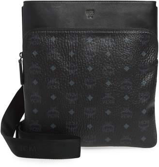 MCM Ottomar Visetos Faux Leather Crossbody Bag