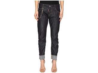 DSQUARED2 Skin Hibird Pants Five-Pockets Women's Casual Pants