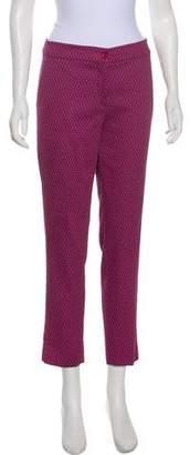 Etro Printed Mid-Rise Pants